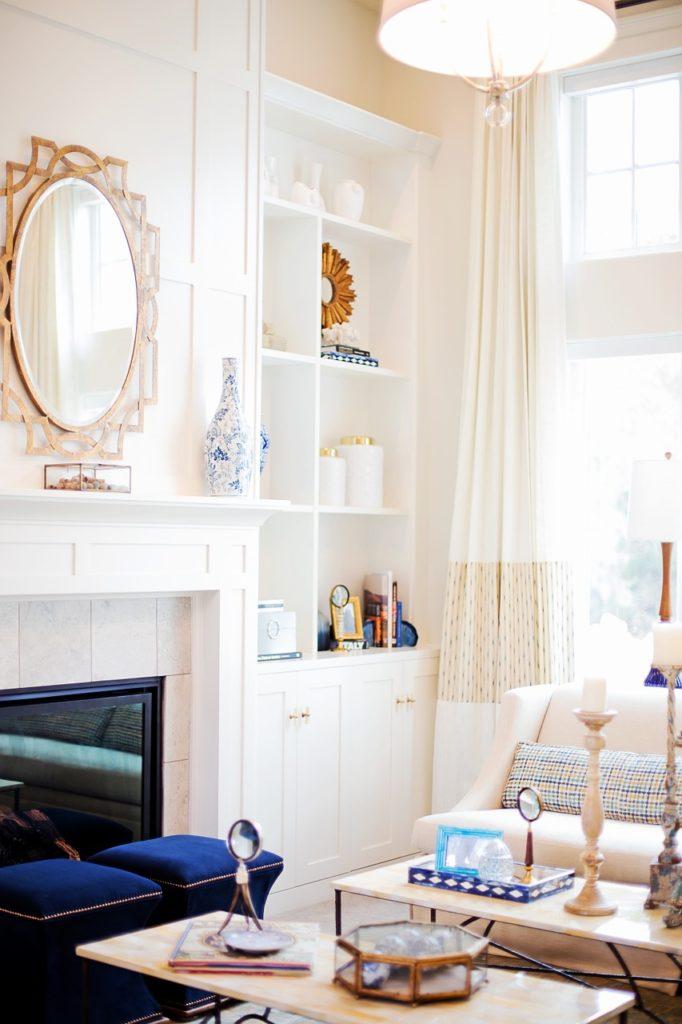 living room, home, interior decor