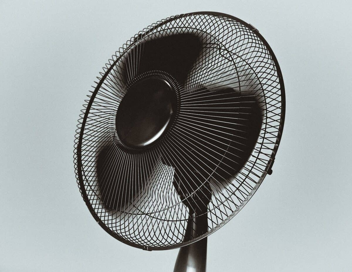 black, fan, air,heat, hot, summer, Tower Fans vs Oscillating Fans: What's the Difference and Which One Is Better?